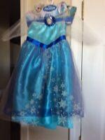 """Disney """"Frozen Elsa Dress"""" Sz 4-6X. New With Tags"""