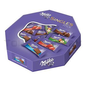 Milka Singles Assorted Mix Mini Chocolate Bars 138g 4.9oz