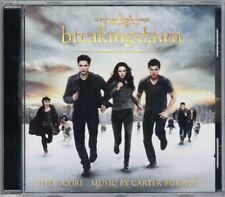 TWILIGHT: BREAKING DAWN 2 Carter Burwell OST Score CD Biss zum Ende der Nacht