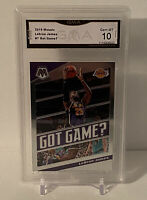 2019-20 Panini Mosaic Got Game? LeBron James #7 Insert GMA 10 Gem Mint Lakers