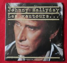 Johnny Hallyday, les vautours / rien à jeter, CD single