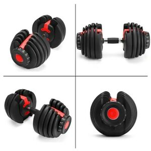 NEW Weight Adjustable Dumbbell Fitness Workouts Dumbbells For Professionals