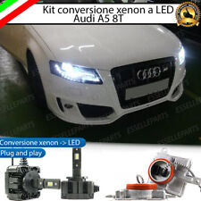 KIT LED D3S CONVERSIONE BI XENON BIXENO A LED AUDI A5 8T 12000 LUMEN 6000K
