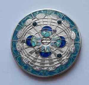 GEOCOIN - Compass Rose 2011 - Midnight Sun - not activated