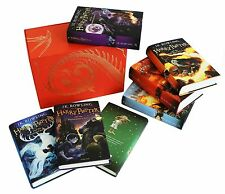 Harry Potter Official UK Collectable Box Set Childrens Edition ALL 7 Hardcover!
