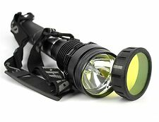 85W 8500 Lumen HID Xenon Torch Flashlight Lamp Light Lantern + 8700mAh Battery