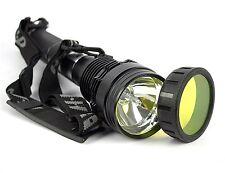 85W 8500 Lumen HID Xenon Torch Flashlight Lamp Light Lantern + 8700mAh Battery