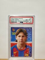 2004-05 Panini Mega Cracks Barca #35 Lionel Messi ROOKIE CARD PSA 8.5 MINT