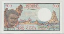 DJIBOUTI 500 FRANCS ND NEUF