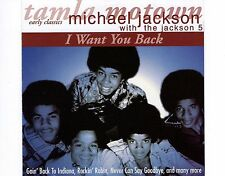 CD MICHAEL JACKSON with THE JACKSON 5 i want you back 1996 EX