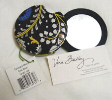 Vera Bradley ELLIE BLUE COMPACT Mirror CASE Pocket COSMETIC for PURSE Tote NWT