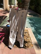 The North Face Ladies Large Snowboarding Pants In Cream Slightly Used