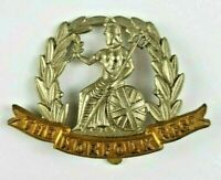 WW1 The Norfolk Regiment Bi Metal Cap Badge - Slider to Rear