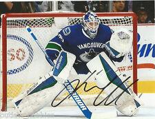Vancouver Canucks Jacob Markstrom Signed Autographed 8x10 Photo COA E