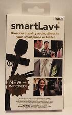 Rode smartLav+ Plus Lavalier Condenser Microphone for Smartphones