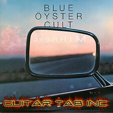 Blue Öyster Cult Digital Guitar Tab Mirrors Pdf Lessons on Disc Donald Roeser