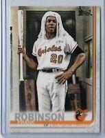 2019 Topps Series 2 Baseball Short Print Variation Frank Robinson #529 SP Oriole
