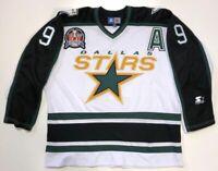 MIKE MODANO 1999 DALLAS STARS STANLEY CUP STARTER JERSEY SIZE XL WHITE