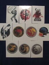 2014 Topps HOW TO TRAIN YOUR DRAGON 2 TATTOO Set of 10