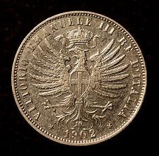 Kgr. Italien, Vittorio Emanuele III., 25 Centesimi 1902 R, R!