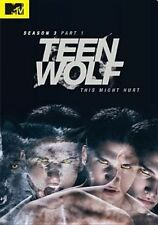 Teen Wolf Season 3 Part 1 R1 DVD Tyler Posey