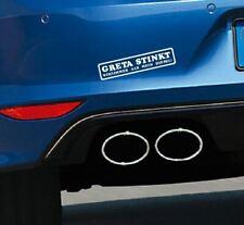 Aufkleber GRETA STINKT SCHLIMMER ALS MEIN DIESEL Autoaufkleber Tuning Umwelt