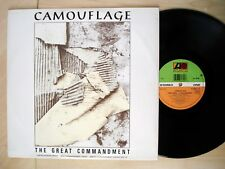 """Camouflage The Great Commandment ♫LISTEN♫ PROMO A-1 B-1 UK 12"""" A9031T 1988 EX"""