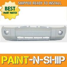 NEW 2006 2007 2008 2009 2010 Jeep Commander w/Crm Front Bumper Painted CH1000874