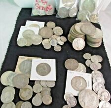 Nice 90% Silver Coins, Not scrappy. 1 Morgans or Peace, Mix 5oz lots.   #m90