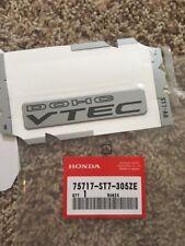 "New OEM 90-01 Acura Integra GSR Type R B18C1 B18C5 DC2 ""DOHC VTEC"" Emblem Badge"