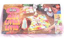 Vintage 1970 Mattel Barbie Miss Lively Living Board Game Complete Bin R