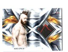 WWE Sheamus 2019 Topps Undisputed Blue Shirt Relic Card SN 17 of 25