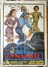 manifesto 2F film BLU DYNAMITE Claudia Jennings Jocelyn Jones 1979 art IAIA