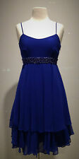 FOREVER NEW FORMAL DRESS WOMEN BLUE VINTAGE SPRING FASHION RACE WEDDING PROM
