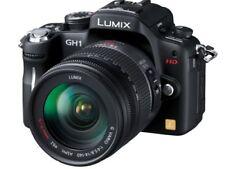 Panasonic Digital Slr Camera Lumix Gh1 Lens Kit Con Photo Black Dmc-Gh1K-K