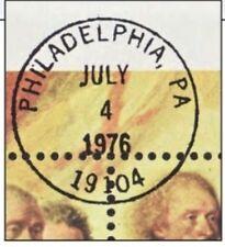 """BICENTENNIAL SOUVENIR SHEET, THE """"OTHER"""" PRECANCEL, SCARCE JULY 4, 1976, PACKET!"""