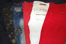 5  Jeans Damen  Gr.38 S/M Glitzer Luxury Redial , Nieten ,Pimkie Army Jeans N66