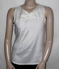 NEW Kathleen Kirkwood Stretch Sheath Camisole with a Twist MEDIUM/IVORY