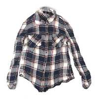 F&F Blue Check Womens Shirt Size 6 (Regular)