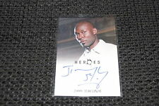 HEROES Archives Trading Card Autogramm signed JIMMY JEAN-LOUIS