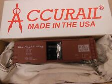 HO SCALE ACCURAIL CENTRAL OF GEORGIA 8576 PS-1 40' BOX CAR KIT