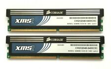 4GB (2 X 2GB) CORSAIR XMS2 DDR2-800 (PC2-6400) DESKTOP PC RAM