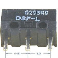 4 SUB Miniatur MIKROSCHALTER 125VAC 3A 30VDC 2A OMRON D2F Rollenhebel