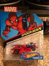 Hot Wheels Mattel Character Cars Marvel Spider-Man BDM72-0911 NEW