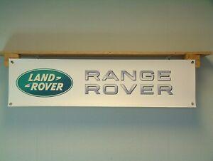 Range Rover Banner LandRover Workshop Garage Display sign Evoque Sport Velar