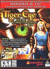 Tiger Eye Curse Of The Riddle Box PC Games Windows 10 8 7 XP Computer mystery