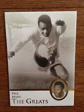 2013 Futera Greats Unique Soccer Card- Brazil PELE Mint