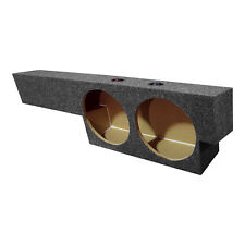 "2000-2003 Ford EMPTY Dual 10"" SubWOOFER Sub Speaker BOX Under seat Up-firing"