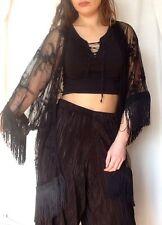 New Look Black Lace Kimono Size 14 New Nwt