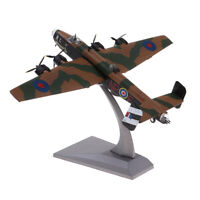 1/144 Handley Page Halifax B Mk III Aircraft Plane Toy Home Decor Collection